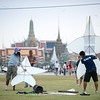 Traditional Kite Fight at Sanam Luang