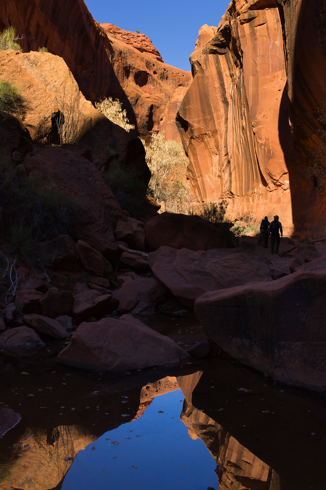Hiking in Neon Canyon
