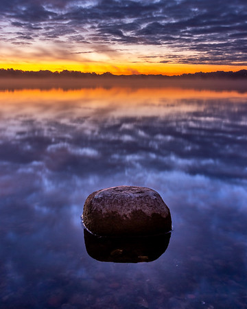 Sunrise at Reed's Lake in East Grand Rapids