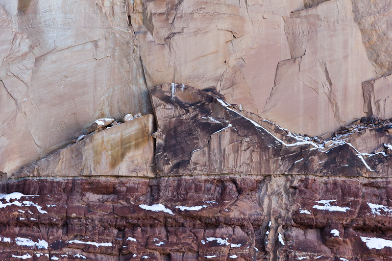 Grand Canyon Rock Wall