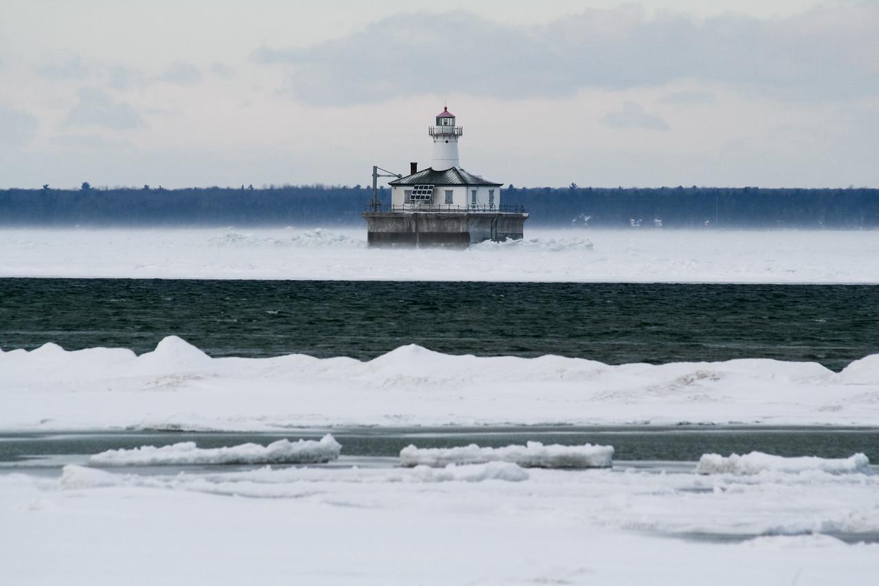 Lighthouse Point, Frozen
