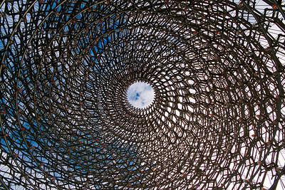 Inside the Hive, Kew Gardens, London