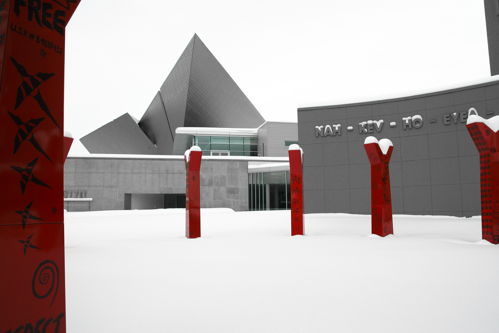 DAM In The Snow