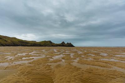 Three Cliff's Beach, Wales