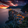 2017.22 - ItalyCT - Vernazza VI Sunset