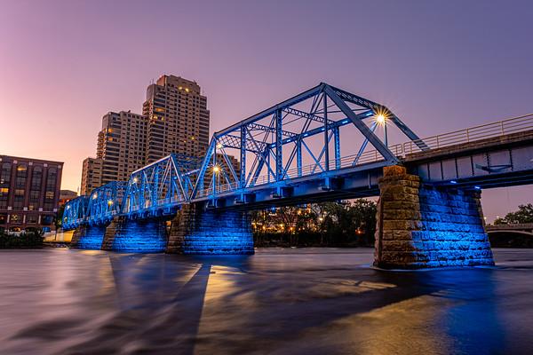 First Light in Grand Rapids