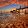 3.2013 - Sandbanks Pier Sunset