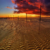8.2013 - Snadbanks Pier Sunset