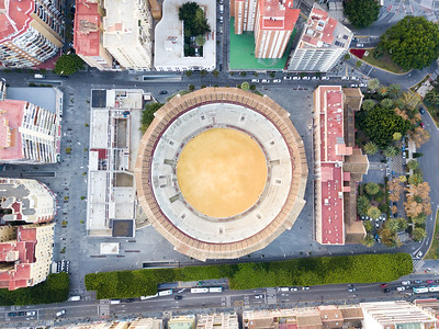 The Morning of the Bull Fight, Malaga, Spain