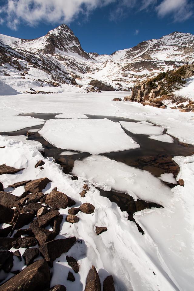 Blue Lake Ice Flow