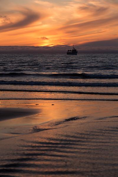 Hornvik Sunset