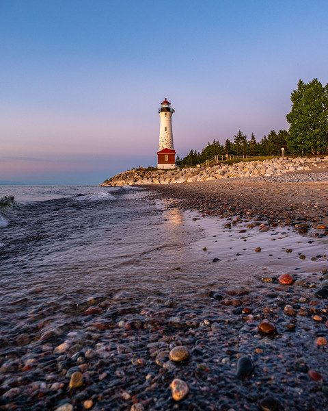 Crisp Point Lighthouse - At Water's Edge