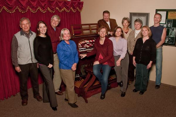 NCW Museum Staff 2011