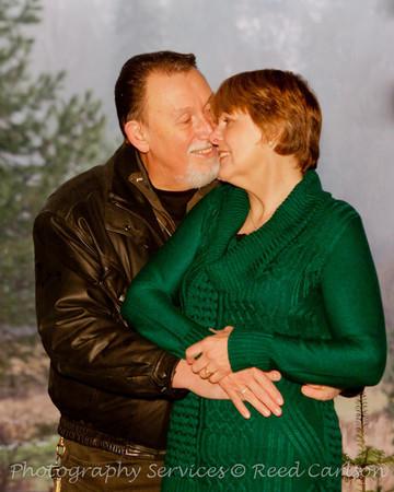 David and Linda at Pine River Ranch