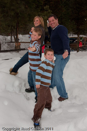 Matson Family 2011 at Red Tail Farm