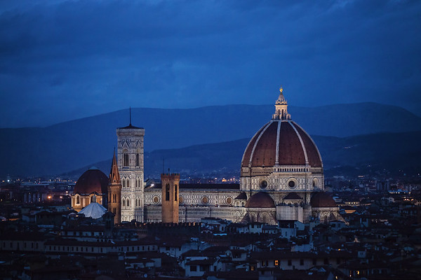 Duomo by Night, Florence, Italy
