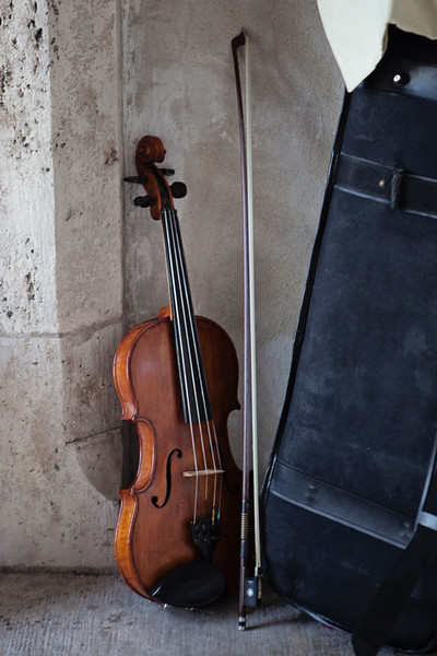 Violin, Budapest, Hungary