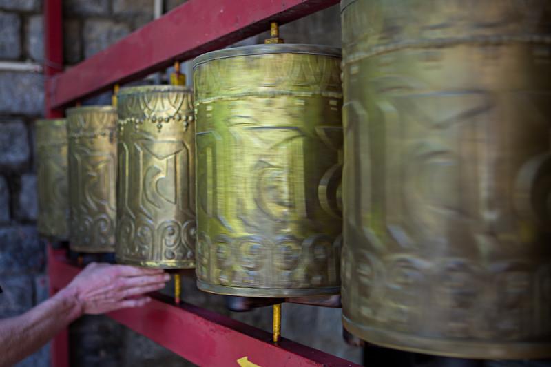 Prayer Wheels, Dharamsala, India
