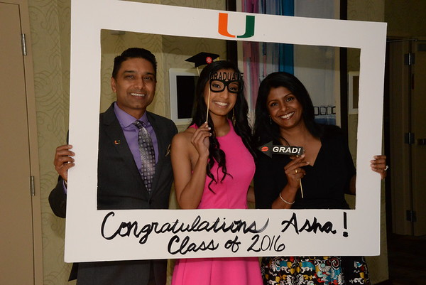 Asha's Graduation Party 5-29-16