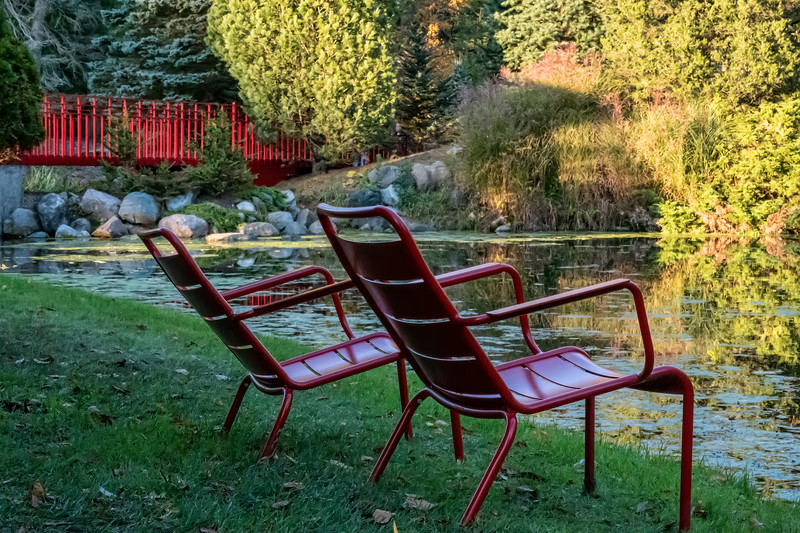 Red Chairs Revisited