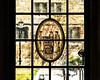 Window 13. North Walk, Hutchins Hall - Cartoon - Military