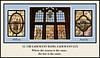 Triptych of Window 13 (North Walk) - UBI EADEM, Military, Anarchy