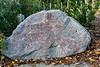 "Boulder for 'For the Garden' - ""Cherry blossoms..."" (Boulder 12)"