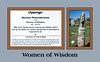 Label for 'Women of Wisdom' by Nicholas Mukomberanwa