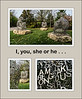 """ID montage for """"I, you, she or he..."""" by Jaume Plensa"""