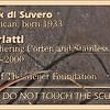 ID Plaque for Scarlatti by Mark di Suvero