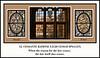 Triptych of Window 12 (North Walk), CESSANTE...; Murder, Honor