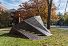 """Ginnever - Daedalus<br /> Daedalus 2017-01<br /> Charles """"Chuck"""" Ginnever<br /> Cor-Ten Steel; 1977<br /> <br /> Read more here:  <a href=""""http://www.public-art.umich.edu/the_collection/campus/central/58"""">http://www.public-art.umich.edu/the_collection/campus/central/58</a><br /> <br /> University of Michigan Central Campus, Ann Arbor<br /> Side lawn, south side of Alumni Memorial Hall (Museum of Art)<br /> Taken November 11, 2017"""