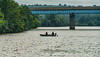 Fishing on the Huron River