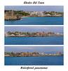 Montage of Rodos panoramas - waterfront
