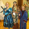 Jordan Peters, 9, won first place for her Saint Margaret of Scotland costume. Marialena Ochoa, 10, won second place for her Saint Kateri Tekakwitha costume, and Tanner Simmons won third place for his Saint John the Baptist costume in the first through fifth grade division.