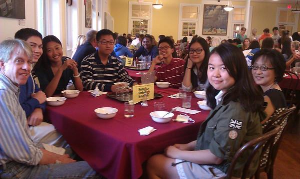 2013 Host Family ice cream social