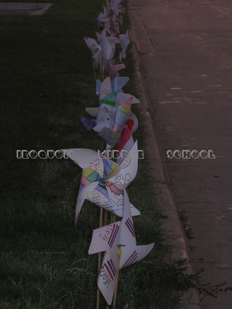 Pinwheels for Peace 2008