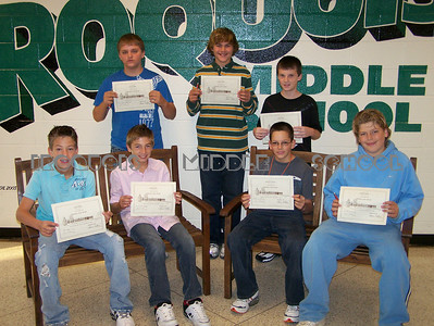 Student of the Month 2008-2009