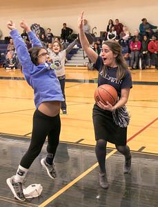 DECEMBER 13, 2017 - BRYN MAWR, PA -- Baldwin School Varsity Basketball vs. Hun at Spirit Night Wednesday, December 13, 2017.  PHOTOS © 2017 Jay Gorodetzer -- Jay Gorodetzer Photography, www.JayGorodetzer.com
