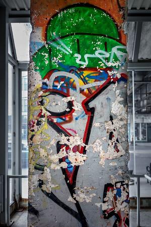 Lincoln Square Berlin Wall