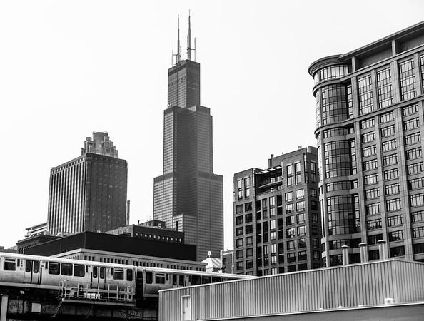 Sears Tower backdrop