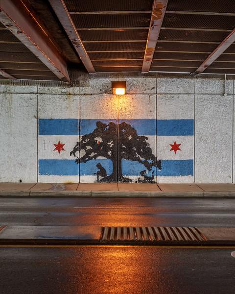 Uptown Chicago Parks underpass