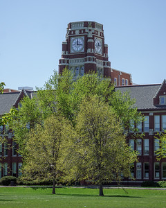 Lane Tech Clock Tower