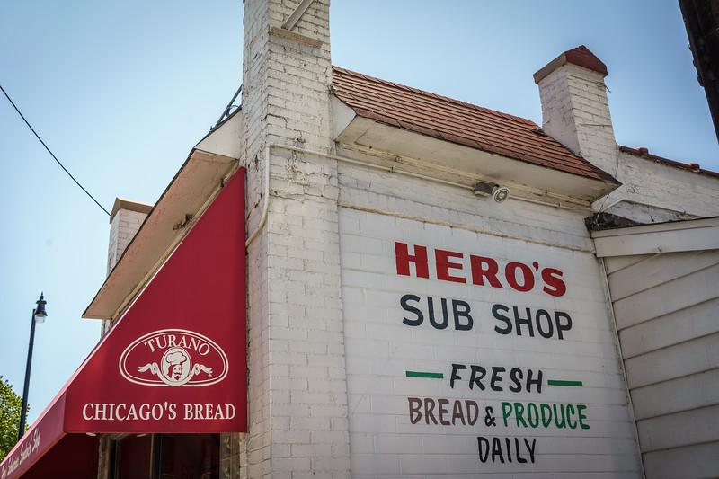 Hero's Sub Shop