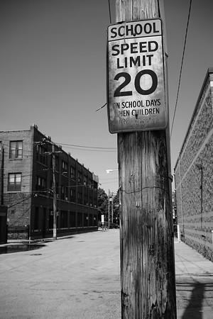 Lincoln Park School Speed Limit