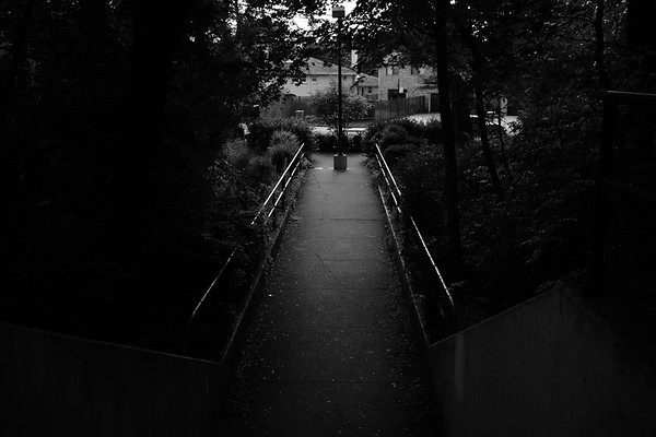 The path out of the underpass