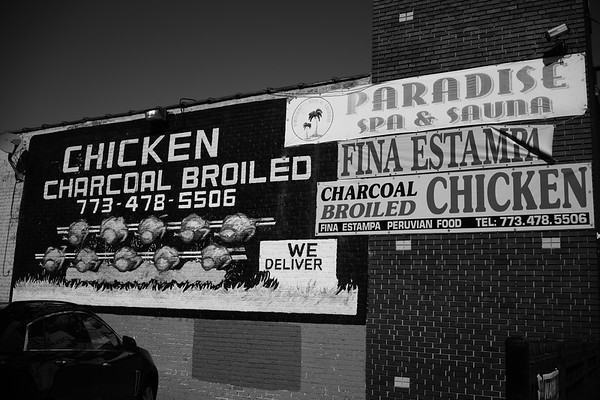 Chicken Charcoal Broiled