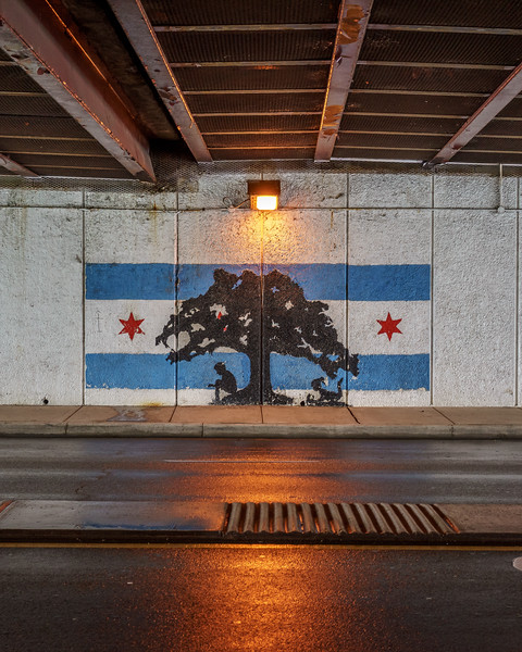 Uptown Chicago Parks underpass