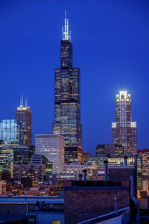 Near West Side Skyline View