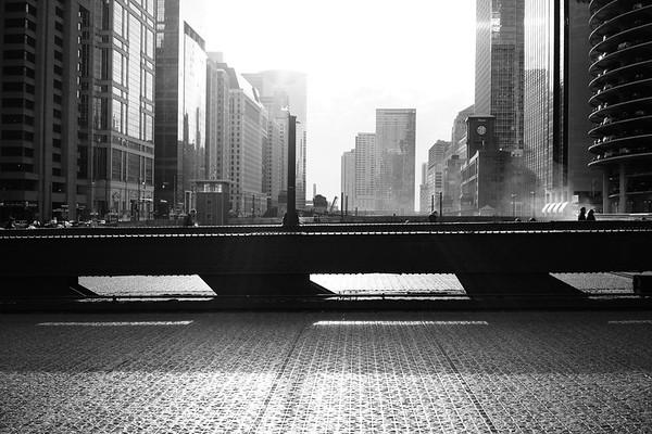 Michigan Avenue Bridge - Late Afternoon